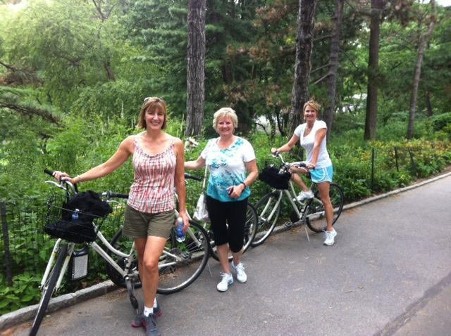 Central park bike tour blog
