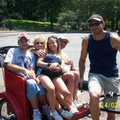 Happy Family Pedicab Tour