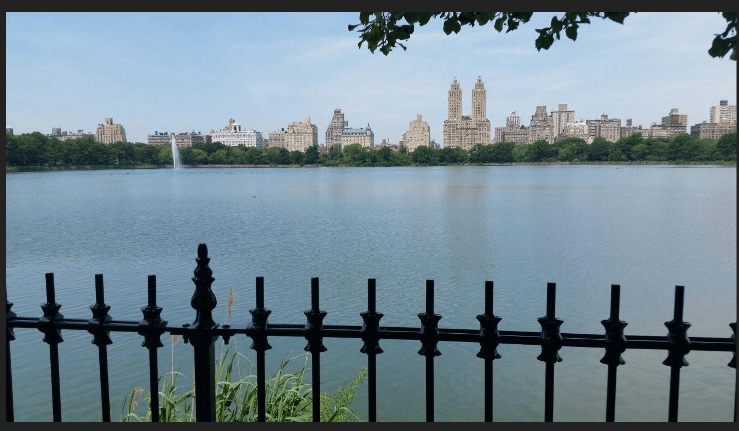 The Reservoir and Upper West Side in Manhattan